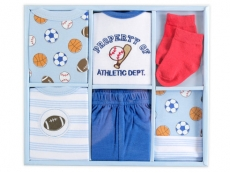 Layette Box Set 6pc (Blue)