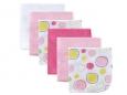 Washcloths 6pk (Pink)
