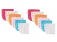 Washcloths 12pk (Pink Starfish)