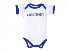Baby Sayings Bodysuit (Little Brother)