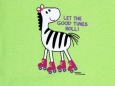 Tee Top Zebra