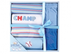 Mix & Match Layette Box 6pc (Blue)