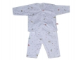 Soft Baby Pyjamas (Design D) - Baby Playing Music
