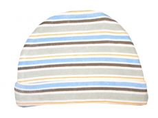 Luvable Friends Cap 1 piece (Brown Stripe)