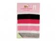 Metallic Stripe Cotton Tights