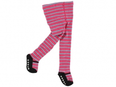 Non-Skid Stripe Mary Jane Tights