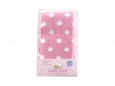 Medium Pink Dot Cotton Tight