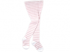 Light Pink Stripe Cotton Tight