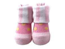 Baby Socks (Girl) - Beautiful Dot Design