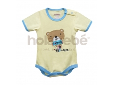 Baby Romper Cute Little Bear (B for Bear)