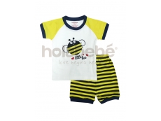 Mini Baby Pyjamas (Yellow Bee)