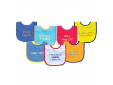 Baby Sayings Bibs 7pcs