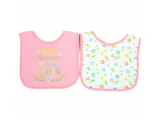 Baby Sayings Bibs 2pc