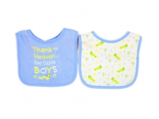 Baby Sayings Bibs 2pc (Design B)