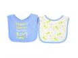 Baby Sayings Bibs 2pc (Design B)