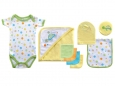 Bath Time Gift Set 9pc (Yellow)