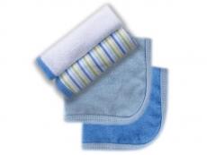 Washcloths 4pk (Blue)