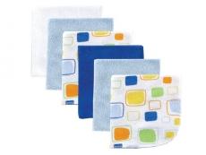 Washcloths 6pk (Blue)