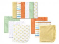Washcloths 12pk (Yellow)