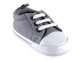 Basic Canvas Sneaker (Grey)