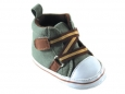 Boy Zig Zag Hi-Top (Green)