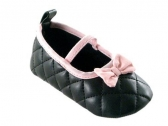 Quilted Mary Jane (Black)