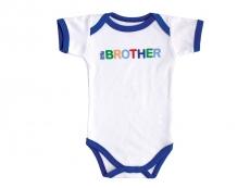 Baby Sayings Bodysuit (Little Brother)