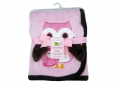 3D Animal Blanket (Pink)