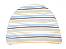 Luvable Friends Cap 1 piece (Brown Stripe)