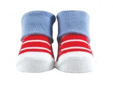 Baby Socks (Boy) - Red Shoe Design