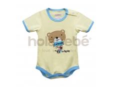 Baby Romper Cute Little Bear (B for Bear)