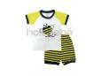 Mini Kids Pyjamas (Yellow Bee)