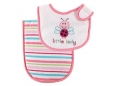Deluxe Bib & Burp Cloth - Pink