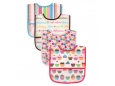 PEVA Bibs 4pc (Phthalate Free) Design B